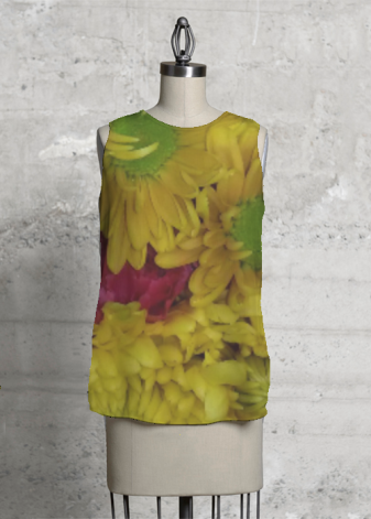 VIDA SLEEVELESS TOP (KALEIDOSCOPE)